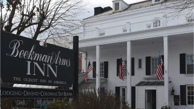 A new spa is in the works behind the historic Beekman Arms Inn.