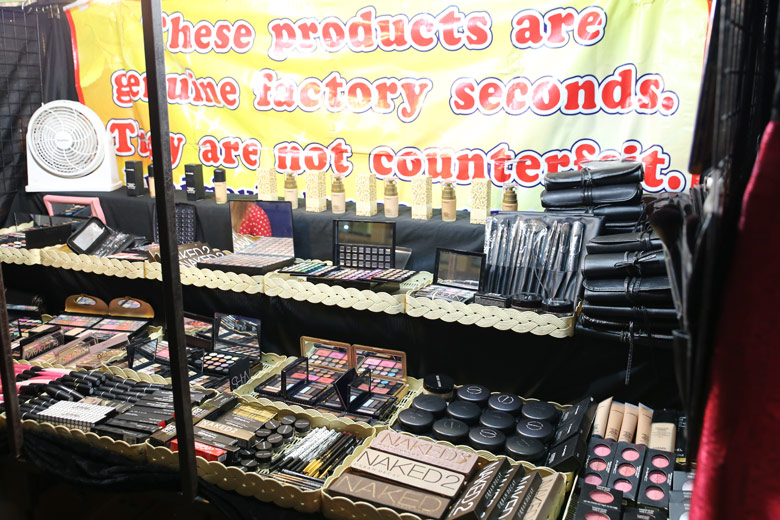 These products are genuine factory seconds. They are not counterfeit.