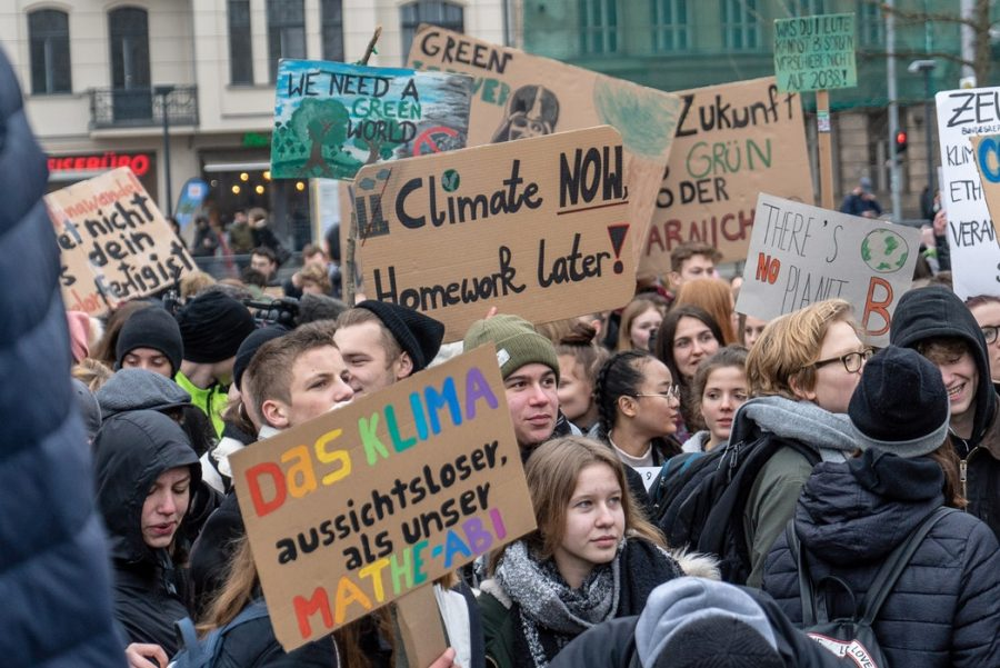 Many protests like this took place all around the world. The one above is in Invalidenpark, Berlin, Germany