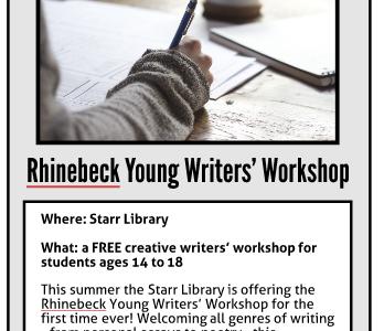 Rhinebeck Young Writers' Workshop
