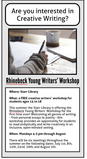 Rhinebeck Young Writers' Workshop