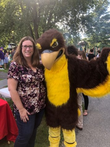 RHS Hawk Swoops into PTSO Block Party