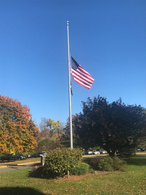 The Flag at Half-Staff