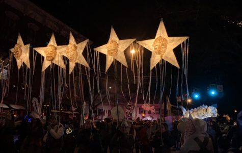 Sinterklaas and Its Starlit Sturgeon Swim into Town