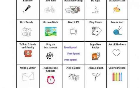 Stay at Home Bingo!!