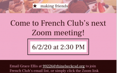 French Club Announcement