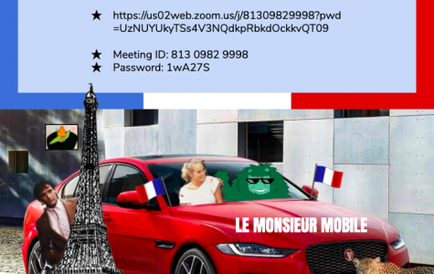 Join French Club at Their Last Meeting This Wednesday, 6/10!