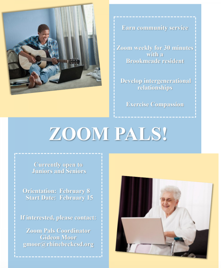 Volunteer to Be a Zoom Pal
